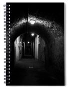 Alley Of Melancholy. Iseo Spiral Notebook