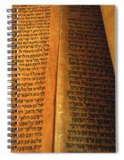 Ancient Torah Scrolls From Yemen  Spiral Notebook