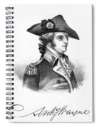 Anthony Wayne (1745-1796) Spiral Notebook