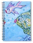 Art Fish Spiral Notebook