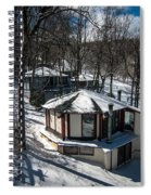 At The Ski Resort Spiral Notebook