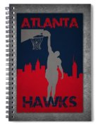 Atlanta Hawks Spiral Notebook