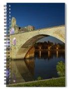 Avignon Bridge Spiral Notebook