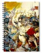 Battle Of Grunwald Spiral Notebook