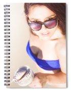 Beach Spiral Notebook