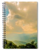 Blue Ridge Parkway Scenic Mountains Overlook Spiral Notebook
