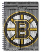 Boston Bruins Spiral Notebook