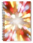 Bright Background  Spiral Notebook