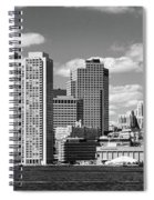 Buildings At The Waterfront, Boston Spiral Notebook