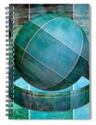 5 By 5 Ocean Geometric Shapes Spiral Notebook
