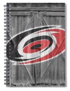 Carolina Hurricanes Spiral Notebook