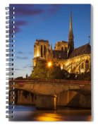 Cathedral Notre Dame Spiral Notebook