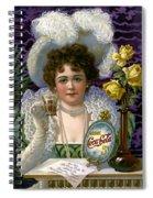 5 Cent Coca Cola - 1890 Spiral Notebook