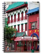 Chinatown Spiral Notebook