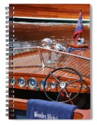Chris Craft Sportsman Spiral Notebook
