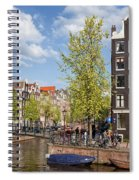 City Of Amsterdam Cityscape Spiral Notebook