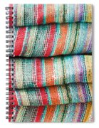 Colorful Cloth Spiral Notebook