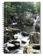 Conwy River Near Betws Y Coed.  Spiral Notebook