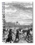 Cotton Plantation, 1867 Spiral Notebook