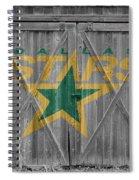 Dallas Stars Spiral Notebook