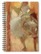 Dancers Spiral Notebook