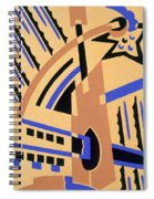 Design From Nouvelles Compositions Decoratives Spiral Notebook