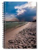 Destin Florida Beach Scenes Spiral Notebook
