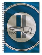 Detroit Lions Uniform Spiral Notebook