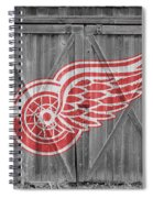 Detroit Red Wings Spiral Notebook