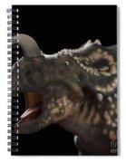 Dinosaur Einiosaurus Spiral Notebook