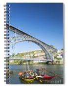 Dom Luis Bridge Porto Portugal Spiral Notebook