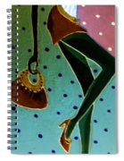 Fashion Art Spiral Notebook