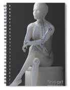 Female Anatomy Spiral Notebook