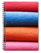 Fleece Spiral Notebook