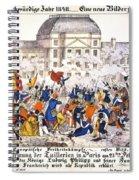 France Revolution, 1848 Spiral Notebook