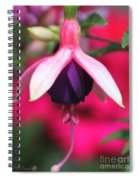 Fuchsia Named Lambada Spiral Notebook