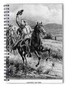 George Armstrong Custer (1839-1876) Spiral Notebook