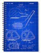 Golf Club Patent 1926 - Blue Spiral Notebook