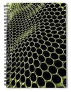 Graphene Structure Spiral Notebook