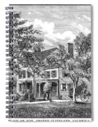 Grover Cleveland (1837-1908) Spiral Notebook