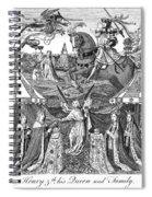 Henry V (1387-1422) Spiral Notebook