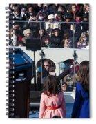 Inauguration Spiral Notebook
