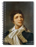 Jean-paul Marat (1743-1793) Spiral Notebook