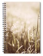 June Grass Flowering Spiral Notebook
