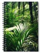 Jungle Leaves Spiral Notebook