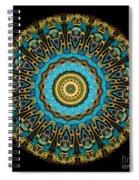 Kaleidoscope Steampunk Series Spiral Notebook
