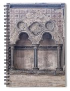 Knights Templar Temple In London Spiral Notebook