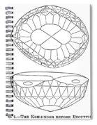 Koh-i-noor Diamond Spiral Notebook
