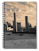 Kourion-temple Of Apollo Spiral Notebook