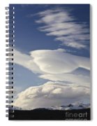 Lenticular Clouds Spiral Notebook